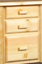 Solid Aspen Drawer Boxes Lined with Red Cedar