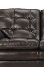 Tufted Seats and Seat Backs Create a Plush Appearance
