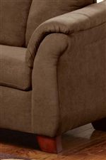 Flared Armrests with Padding
