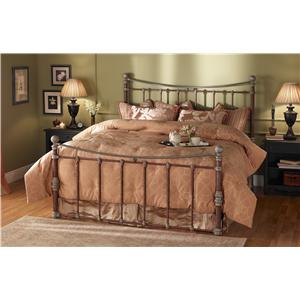 Morris Home Furnishings Quati Queen Headboard and Footboard Iron Bed