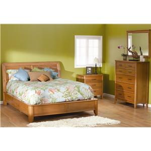 Whittier Wood Pacific Queen Storage Bed With 6 Drawers