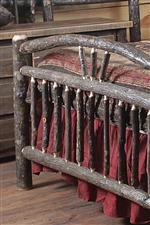 Wagon Wheel Bed Detail
