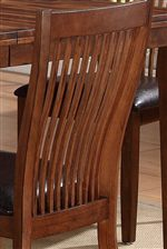 Slat Back on Side Chairs