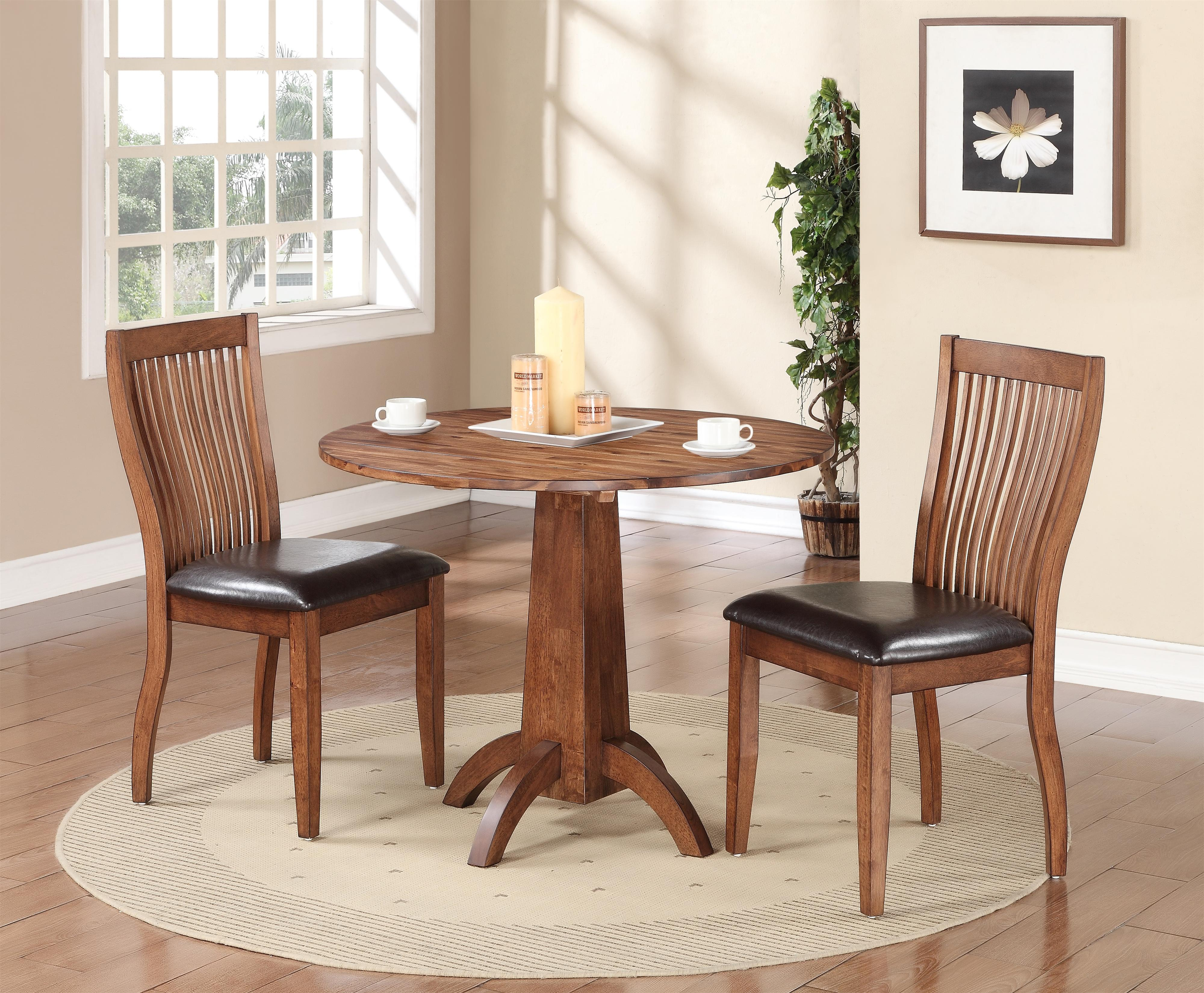 winners only broadway single pedestal drop leaf table pilgrim furniture city kitchen tables - Winners Only Furniture