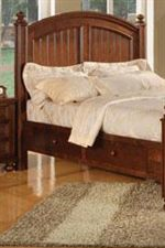 Plank Style Details, Turned Feet and Bed Posts