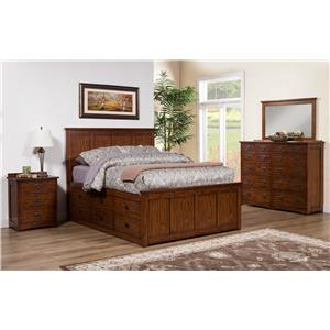 Winners Only Colorado Queen Bedroom Group