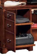 In-Cabinet Pullout Drawers Capable of Storing a Printer and/or Other Components