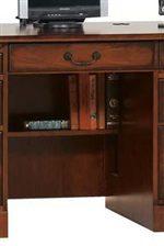 Storage Shelf Between Pedestals