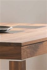 Table Features Smoked Tempered Glass Table Top Inserts