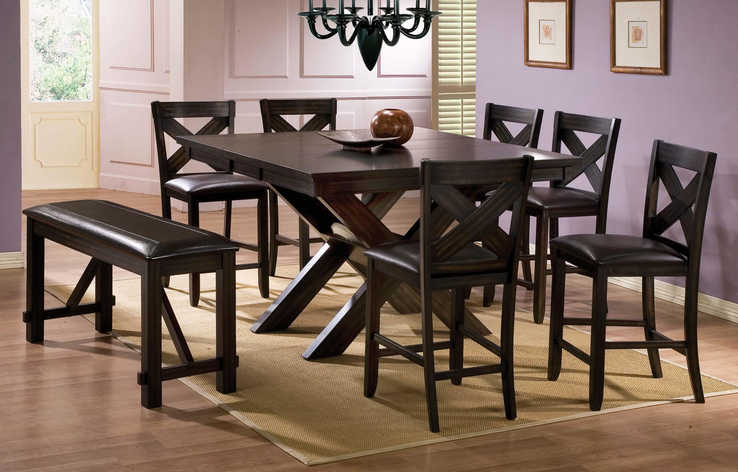 Winners ly Edgewater 8 Piece Counter Height Dining Set with