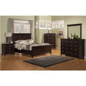 Winners Only Flagstaff 9 Drawer Dresser and Mirror Set