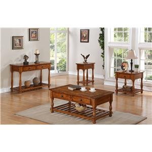 Winners Only Grand Estate Trestle Table with Two 12