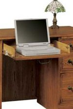 Drop-Front Center Drawer Ideal for Computer Keyboard
