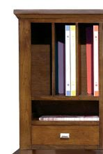 Myriad of Home Office Storage Additions with Top Side Case Piece Moulding