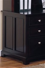 Paneled Sides and Drawer Fronts