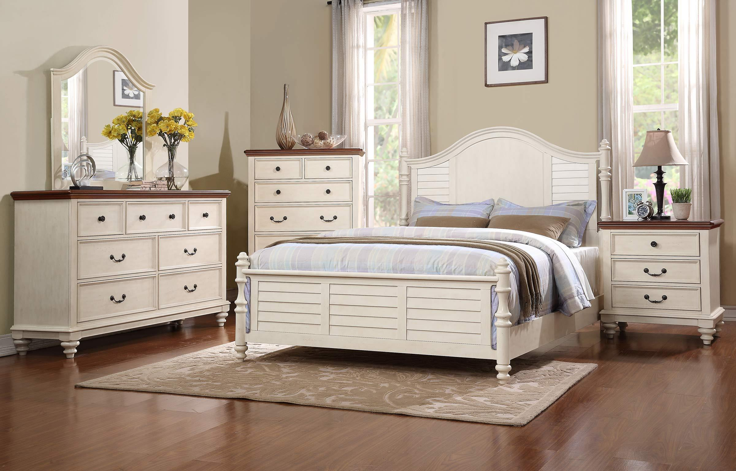 Winners ly Palm Beach King Panel Bed with Turned Feet Lindy s
