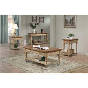 Winners Only Quails Run Sofa Table with 2 Drawers