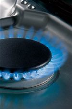 Dual-Stacked Burners Provide Both Very High BTU Flame and Low BTU Simmer Flame