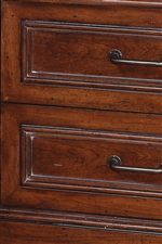 Framed Drawer Fronts Suggest Traditional Craftsmanship
