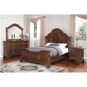 Flexsteel Wynwood Collection Talavera Queen Bedroom Group