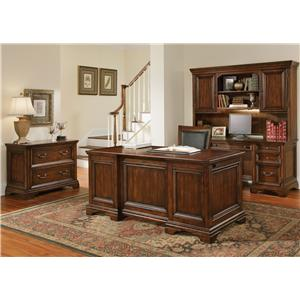 Morris Home Furnishings Waterloo Crendenza and Hutch
