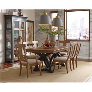 Kincaid Furniture Stone Ridge Formal Dining Room Group