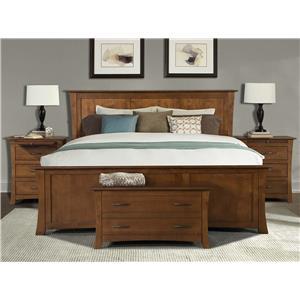 AAmerica Grant Park King Bedroom Group