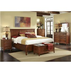 AAmerica Westlake Queen Storage Bedroom Group
