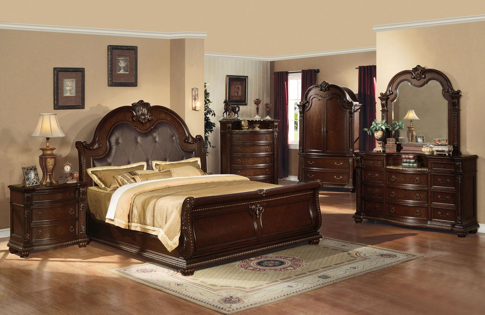 Anondale King Bedroom Group by Acme Furniture at Carolina Direct