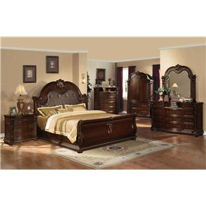 Acme Furniture Anondale Cal King Bedroom Group