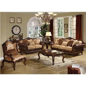 Acme Furniture Remington  Stationary Living Room Group