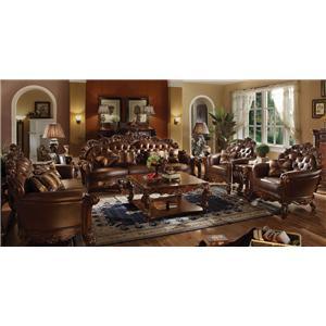 Acme Furniture Vendome Stationary Living Room Group
