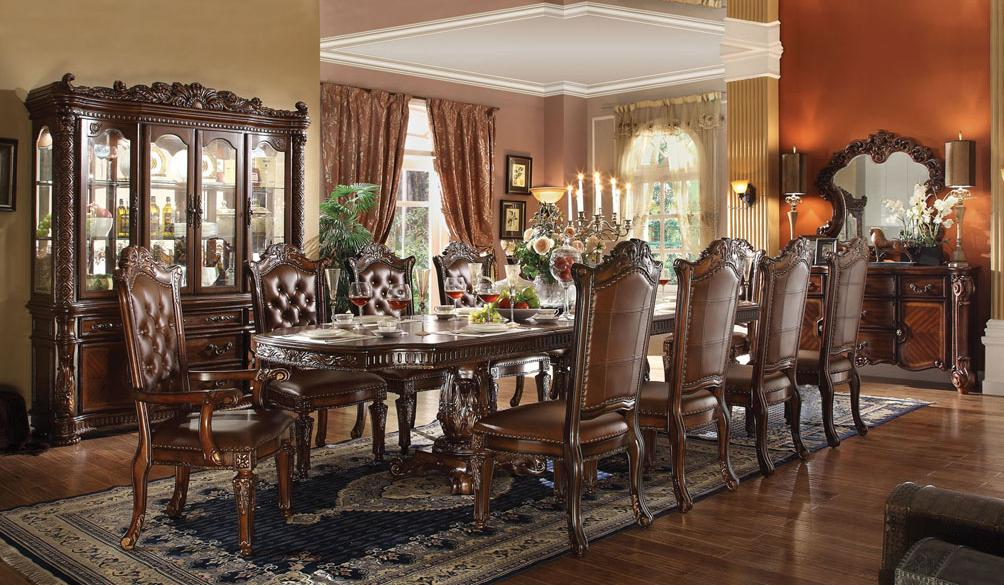 Vendome Formal Dining Room Group by Acme Furniture at Carolina Direct