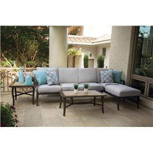Apricity Outdoor Maddox Outdoor Sofa Group