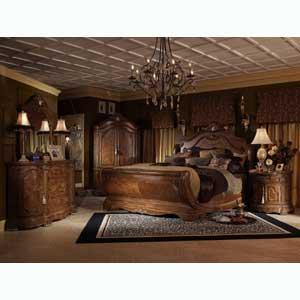 Michael Amini Cortina California King Bedroom Group