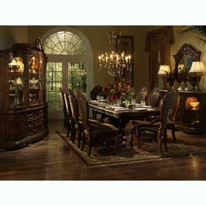 Michael Amini Cortina Formal Dining Room Group