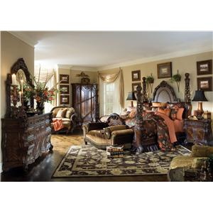 Michael Amini Essex Manor California King Bedroom Group