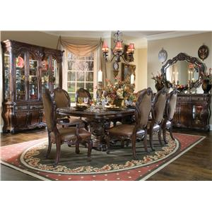 Michael Amini Essex Manor Formal Dining Room Group