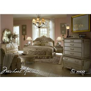 Michael Amini Lavelle California King Bedroom Group