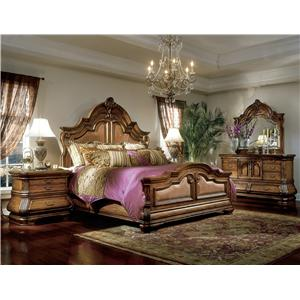 Michael Amini Tuscano Biscotti California King Bedroom Group