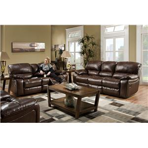 Albany 1750 Reclining Living Room Group