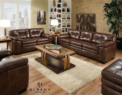 782 Stationary Living Room Group by Albany at A1 Furniture & Mattress