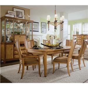 American Drew Antigua Formal Dining Room Group