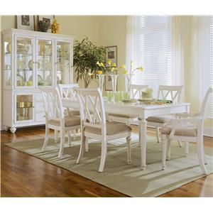American Drew Camden - Light Formal Dining Room Group