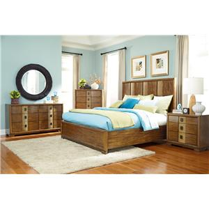 American Drew Grove Point Cal King Bedroom Group 4