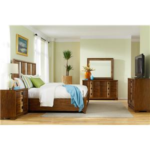 American Drew Grove Point King Bedroom Group 3