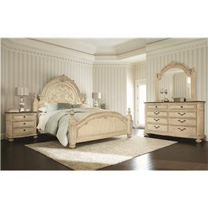 American Drew Jessica McClintock Home - The Boutique Collection Cal King Bedroom Group
