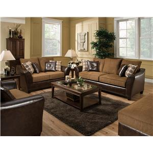 American Furniture 3200 Group Stationary Living Room Group