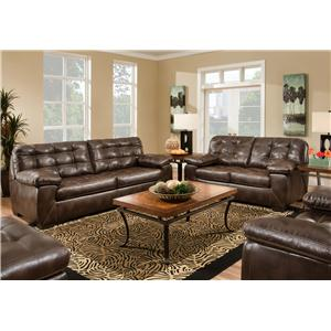 American Furniture 4400 Stationary Living Room Group