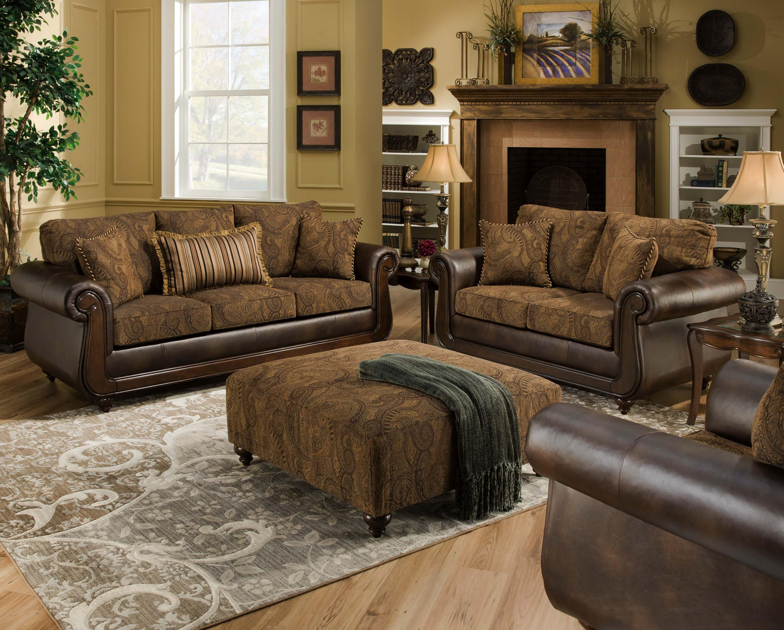 5850 Stationary Living Room Group by Peak Living at Prime Brothers Furniture